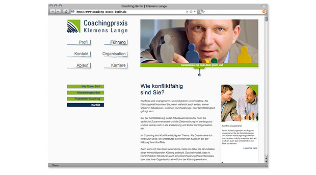 Webdesign Screen